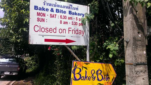 Bake and Bite, Kaewnawarat, Chiang Mai