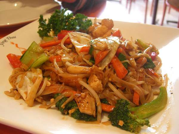 Pad Thai Vege - Ying Thai Richmond
