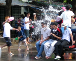 Songkran Festival: Nailed