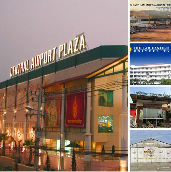 Chiang Mai Airport Attractions