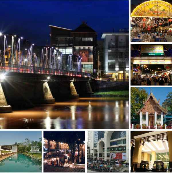 Chiang Mai Night Bazaar Attractions